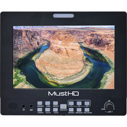 "MustHD Hyper-Brite 1920 x 1200 7"" HDMI Field Monitor"