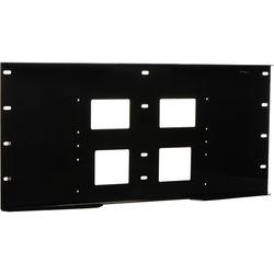 Peerless-AV Triple Stud Wall Plate, Model WSP-716GB  (Gloss Black)