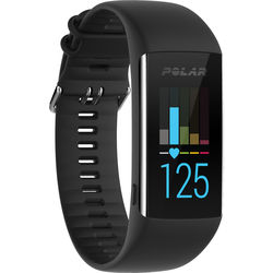 Polar A370 Fitness Tracker (Medium/Large, Black)
