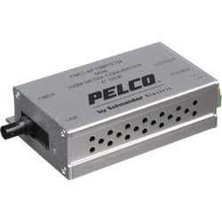 Pelco FMCI Series FMCI-AF1SM1STM 10/100 Mbps Ethernet-Optical Fiber Media Converter with ST Connector (Single-mode)