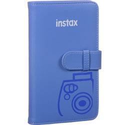 FUJIFILM INSTAX Mini Wallet Album (Cobalt Blue)