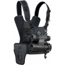 Cotton Carrier CCS G3 Binocular and Camera Harness (Gray)