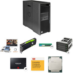 B&H Photo PC Pro Workstation HP Z840 Epoch 4K Neutron SCRATCH Quadro M6000 Turnkey