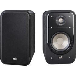 Polk Audio Signature Series S20 2-Way Bookshelf Speakers (Classic Brown Walnut, Pair)