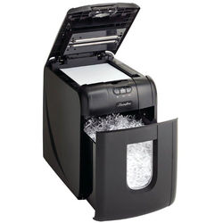 Swingline Stack-and-Shred 130X Cross-Cut Auto-Feed Shredder (130 Sheets, 1-2 Users)