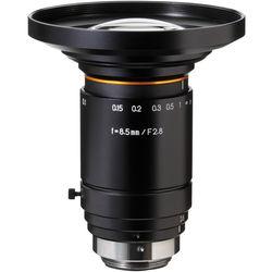 Kowa LM8XC C-Mount 8mm f/2.8-22 Fixed Aspherical Lens