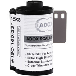 Adox SCALA 160 Black and White Slide Film (35mm Roll Film, 36 Exposures)