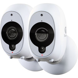Swann SWWHD-INTCAMPK2-US 2MP Outdoor Wi-Fi Network Camera with Night Vision (2-Pack)