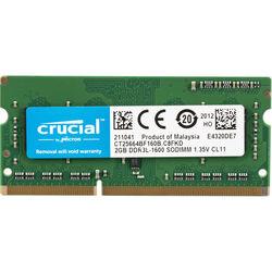 Crucial 2GB DDR3L 1600 MHz SO-DIMM Memory Module