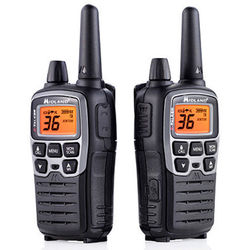 Midland X-Talker T71VP3 36-Channel Two-Way UHF Radio (Gray, Pair)