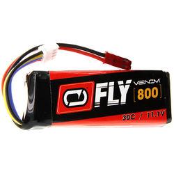 Venom Group Fly 11.1V 800mAh 30C 3S LiPo Battery with JST Plug (2-Pack)