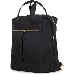 """KNOMO USA Chiltern Tote Backpack for 15"""" Laptop (Black)"""