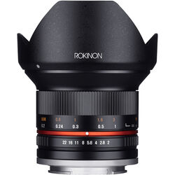 Rokinon 12mm f/2.0 NCS CS Lens for Canon EF-M Mount (Black)