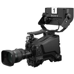"Sony 3 2/3"" Exmor CMOS SD/HD Studio Camera with HDVFL750 7 LCD Studio VF + 20X Zoom Lens"