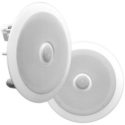 "Pyle Pro PDIC80 8"" Two-Way In-Ceiling Speaker System (Pair)"