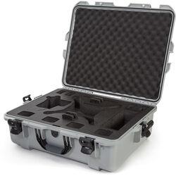Nanuk 945 Waterproof Hard Case for DJI Phantom 4/4 Pro/4 Pro+ & Phantom 3 (Silver)