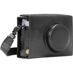 MegaGear Ever Ready Leather Camera Case for Fujifilm X100F (Black)