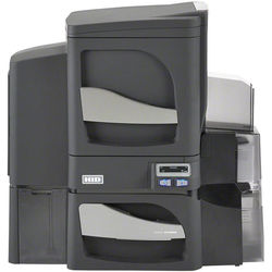 Fargo DTC4500e Dual-Sided USB + Ethernet ID Card Printer with Dual-Sided Lamination & Omnikey 5121 and 5125 Smart Card Encoder