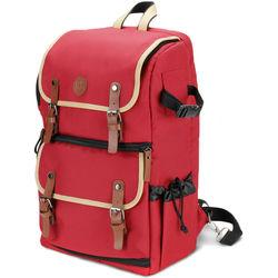 GOgroove DSLR Camera Backpack (Red)