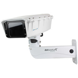 Dotworkz ST-HB-MVP S-Type Heater & Blower Camera Enclosure with Stainless-Steel Arm
