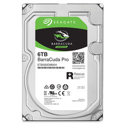 "Seagate 6TB BarraCuda Pro 7200 rpm SATA III 3.5"" Internal HDD"