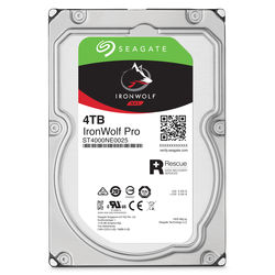 "Seagate 4TB IronWolf Pro 7200 rpm SATA III 3.5"" Internal NAS HDD"