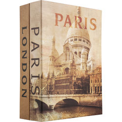 Barska Paris and London Dual Book Lock Box with Key Lock