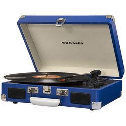 Crosley Radio Cruiser Deluxe Portable Turntable (Blue)
