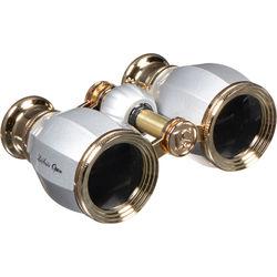 LaScala Optics 4x30 Hamlet Opera Glasses (Platinum & Gold)