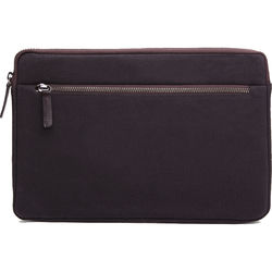 "Cecilia Gallery Waxed Cotton Sleeve for 11"" MacBook (Espresso)"