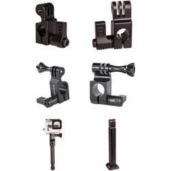 ikan 15/19mm Rod Mount Accessory Kit for GoPro with Baby Pin and Grip Handle Accessory