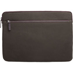"""Cecilia Gallery Waxed Cotton Sleeve for 15"""" MacBook Pro (Pine)"""