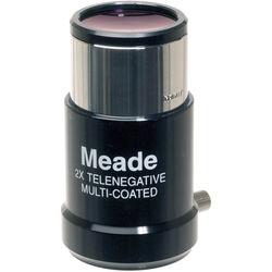 """Meade #126 Short Focus 2x Barlow Lens (1.25"""")"""
