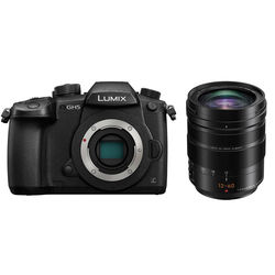 Panasonic Lumix DC-GH5 Mirrorless Micro Four Thirds Digital Camera with 12-60mm Lens Kit