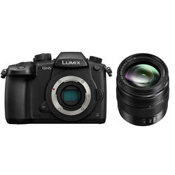 Panasonic Lumix DC-GH5 Mirrorless Micro Four Thirds Digital Camera with 12-35mm Lens Kit