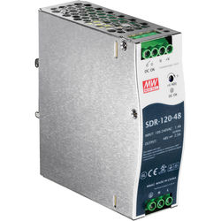 TRENDnet 120-Watt Single-Output Industrial DIN-Rail Power Supply