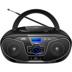 JVC RD-N327U Bluetooth Portable Boombox