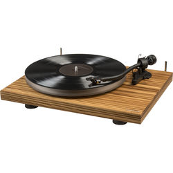 Crosley Radio C20 Dual-Speed Manual Turntable (Zebrano Wood)