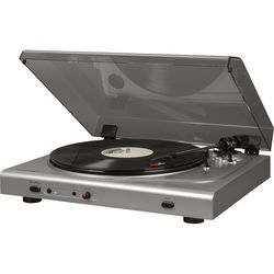 Crosley Radio T300A-SI 2-Speed Turntable with Bluetooth