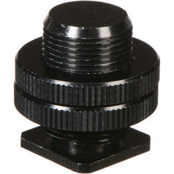 """WindTech CM-58 Hot Shoe to 5/8""""-27 Microphone Adapter (Black)"""