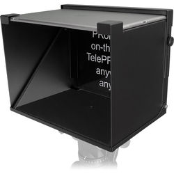 "PRomptBox Compact Folding Mobile Teleprompter for 7 to 9"" iPads and Tablets"