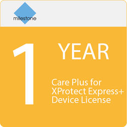 Milestone Care Plus for XProtect Express+ Device License (1-Year)