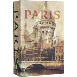 Barska Paris Book Lock Box with Combination Lock