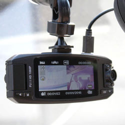 KJB Security Products Lawmate Dual 720p Dash Camera