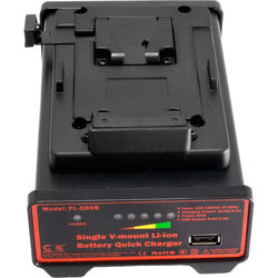 CINEGEARS Single V-Mount Battery Quick Charger