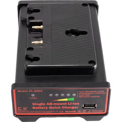 CINEGEARS Single AB-Mount Battery Quick Charger