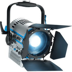ARRI L7-C LE2 LED Fresnel (Silver/Blue, Manual Mount)
