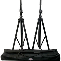 D.A.S Audio DAS-TRPD-S2 PAK Tripod Speaker Stand Pack with Zipper Bag (Pair)
