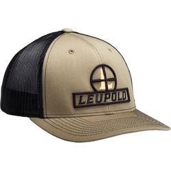 Leupold Reticle Flat Brim Trucker Hat (Loden Green/Black)