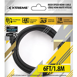 Xtreme Cables High-Speed HDMI Cable with Ethernet (6')